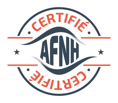Logo afnh certifie